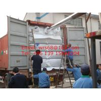 China 20ft PP woven dry bulk container liner for PP, PVC, PE ,PET resin on sale