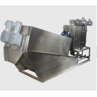 Buy cheap Civil Sludge Drying Equipment / Volute Sludge Dewatering Environmental Friendly from wholesalers