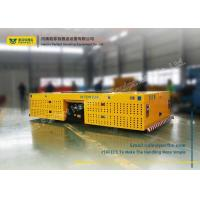 Cargo Carriage Heavy Die Transfer Cart / Battery Powered Cart No Rail Multidirectional Manufactures