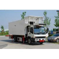 catering truck Isuzu Chassis Aero Food Truck Manufactures
