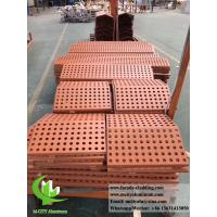 China Perforated aluminum facade metal cladding for exterior wall cover powder coated on sale