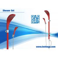 China Wall Mounted Luxury Rain Shower Head Red Shower Bathroom Columns on sale