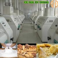 Quality good quality and easy operation for wheat flour milling machine for sale