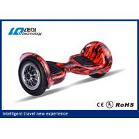 All Terrain 10 Inch Tire Hoverboard , Two Wheels Smart Self Balancing Scooters Manufactures