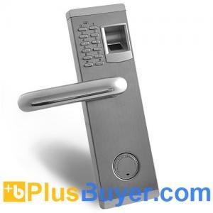 Aegis - Biometric Fingerprint Door Lock with Deadbolt (Fireproof, Left Handed) Manufactures