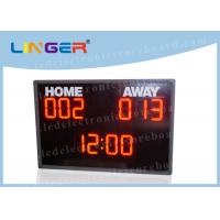 University LED Basketball Scoreboard With Shot Clock CE / ROHS Approved Manufactures