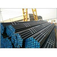 Quality ASTM / JIS Prime Carbon Round Steel Tube , Galvanized Seamless Carbon Steel Pipe for sale