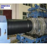 PE / PVC Double Wall Corrugated Pipe Extrusion Line Automatic Manufactures
