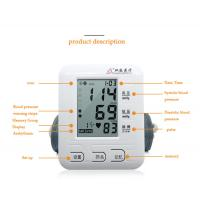 Multi-Functional Electronic Blood Pressure Monitor Portable High Accuracy Manufactures
