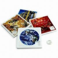 Photographic 4 x 4 Sliding Puzzles, Made of PS Plastic, Customized Designs are Welcome Manufactures