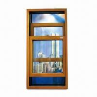 Double Hung Window with Coated and Tempered Glass, Weatherproof and Easy to Install Manufactures