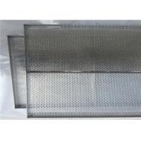 Corrosion Resistance Stainless Steel Perforated Wire Mesh Tray For Oven Manufactures
