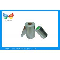 High End Packaging Vacuum Silver Metallic Paper With Single Side Coating Manufactures