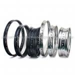 Aluminum Alloy Motocross Wheel Rims , 17/18/19 Inch Black Dirt Bike Rims Manufactures