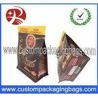 Gravure Printing Food Grade Coffee Packaging Bags Stand up Zipper Pouch Flat Square Bottom Manufactures