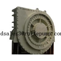 High efficiency Diesel engine Sand Suction Horizontal 600WN Dredge pumps with gear box Manufactures