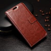 Scrath Resisitant Huawei Y5 Leather Case Crazy Horse With Custom Logo Manufactures
