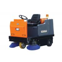 Three Wheels One Seat Suit Ride On Floor Sweeper , Carpet / Street Sweeping Machines Manufactures
