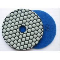 """Dry Buff Diamond Flexible Polishing Pad Dry Marble Granite Buffing Pads 4"""" Manufactures"""