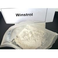 Legal Winstrol Stanozolol Weight Loss Steroids / Fat Burner Powder For Men 10418-03-8 Manufactures