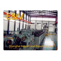 China 650kW Green 8mm Low - Oxygen Copper Continuous Casting Machine 15 tons/hr on sale