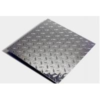 5754 Aluminum tread checkered plate for vehicle steps Manufactures