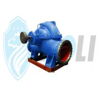 Double Volute Casing Centrifugal Pump , High Suction Water Pump Horizontal Manufactures