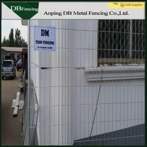 Portable Australia Temporary Dog Fence Panels Galvanized / PVC Coated Finish Manufactures