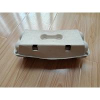China 3 Molds Forming Paper Egg Tray Machine , Carton Manufacturing Machine on sale