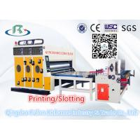 High Quality Automatic Multi-Color Water Ink Cardboard Printing Slotting Machine Manufactures