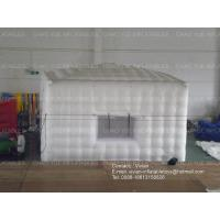 Durable Wearable Cube Inflatable Air Tent Oxford Fabric / PVC Tarpaulin Material Manufactures