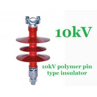 11kV 20kV 25kV 33kV Composite Polymer Pin Insulator For Distribution Lines Manufactures