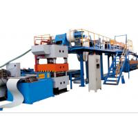 China PLC Continuous PU Sandwich Panel Production Line Material Thickness 0.3 - 0.8mm on sale