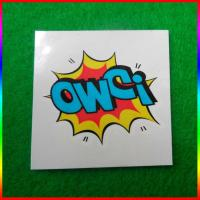 custom 5x5cm CMYK logo printing temporary body tattoo stickers Manufactures