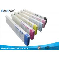 China Odorless Wide Format Inks , 440ML Eco Sol Max Ink Cartridges With Chips on sale