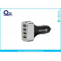 48W 9.6A 4 Port Smartphone Car Charger with QC 2.0 Supported for Galaxy S7 S6 Edge S8 Manufactures