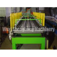 China Blue Corrugated EPS Sandwich Panel Production Line Water Resistant on sale