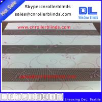 Propular Embroidery Zebra Blinds with 250cm width Manufactures
