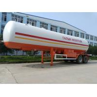 3 axles 48.5cbm chemical liquid transportation tanker trailer for sale, hot sale propane gas transported tank trailer Manufactures