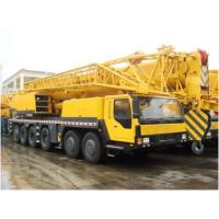 China 2012 Year XCMG Crain Used Trucks , 100 Ton Used Service Trucks With Crane on sale