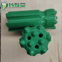 Hard Rock Stone Drilling Tools , Tungsten Carbide Thread Button Bit Manufactures