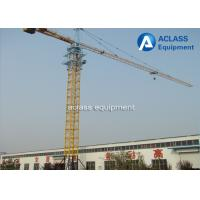 Hammerhead Fixed Tower Crane for High Rising Building Construction , ISO Manufactures