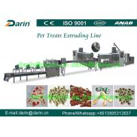 Pet Chewing Snack Processing Machine / feed extruder machine Manufactures