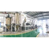 China Single - Screw Plastic Extruder Machine , Plastic Sheet Extrusion Line Low Noise on sale