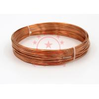 China 99.99 % Cathode Copper Capillary Tube Refrigeration Systems Pipe Fittings on sale