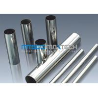 Buy cheap TP304 , TP316 Stainless Steel Sanitary Tubing , Mesh Belt Furnace Annealing from wholesalers