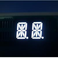 Ultra Bright White 14 Segment Led Display Two Digit For Instrument Panel Manufactures