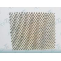 Quality Pure Titanium Perforated Mesh Plate Corrision Resistant Grade 1 for sale