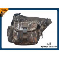 China Camouflage Crossbody Fanny Pack For Men / Fishing Tactical Waist Pack on sale