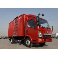 Left Hand Driving 5T Commercial Box Truck84HP Diesel Engine LHD Steering Manufactures